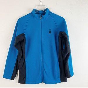 Spyder Boys Constant Mid-weight Core Blue Sweater